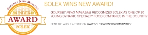 Click on this banner to check the short write-up about Solex in Gourmet News