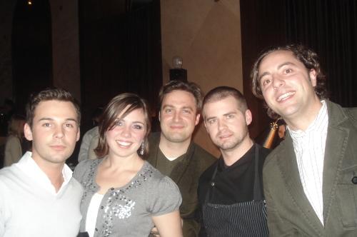 David, Ana, Christoph, Chef Eric, Guillermo