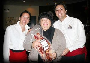 Eva, Chef Carrie, Guillermo
