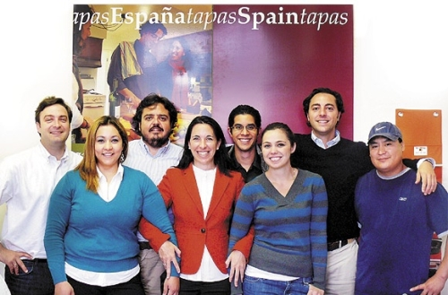 Solex Team October 2008 - Christoph, Lorena, Jose, Eva, Efrain, Ana, Guillermo, Miguel