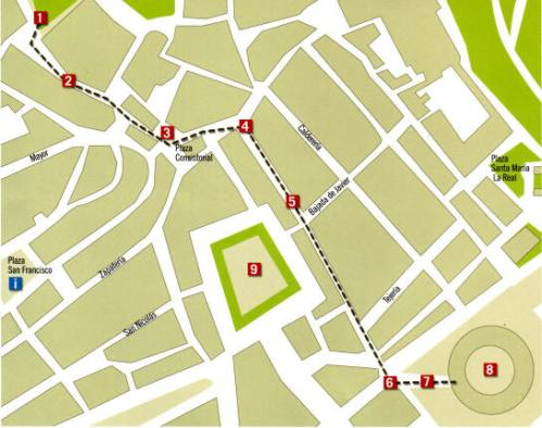 pamplona-bull-run-map