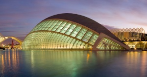 City of Arts and Sciences in Valencia by Santiago Calatrava