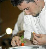 Chef Raul Aleixandre of Ca' Sento Restaurant in Valencia