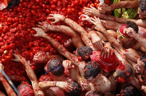 la tomatina bunol spain